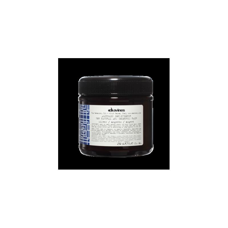 Alchemic Conditioner Silver odżywka podkreślająca kolor - włosy jasne, platynowy blond i siwe 250 ml Davines
