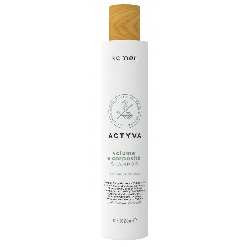 KEMON ACTYVA Volume e Corposita Shampoo 250ml - Szampon nadający objętość