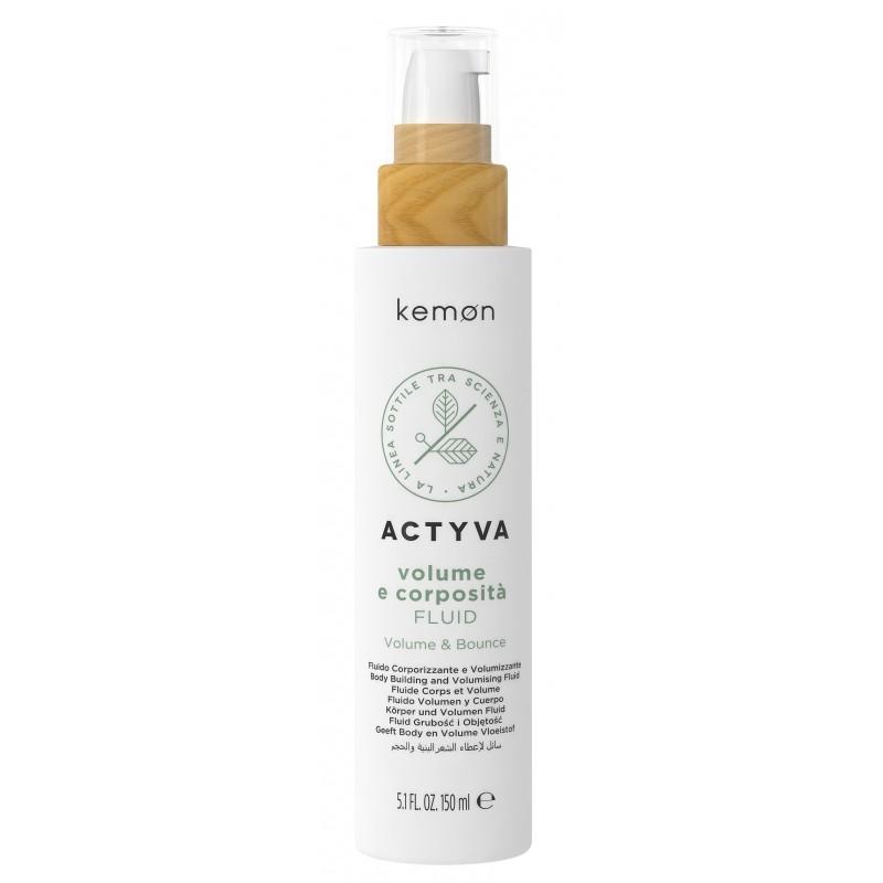 KEMON ACTYVA Volume e Corposita Spray 150ml - Spray Fluid nadający grubość