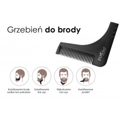 Grzebień do brody FOX BARBER EXPERT
