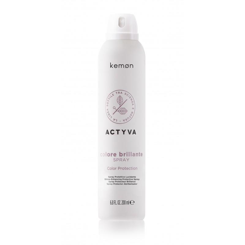KEMON COLORE BRILLANTE Spray do włosów farbowanych