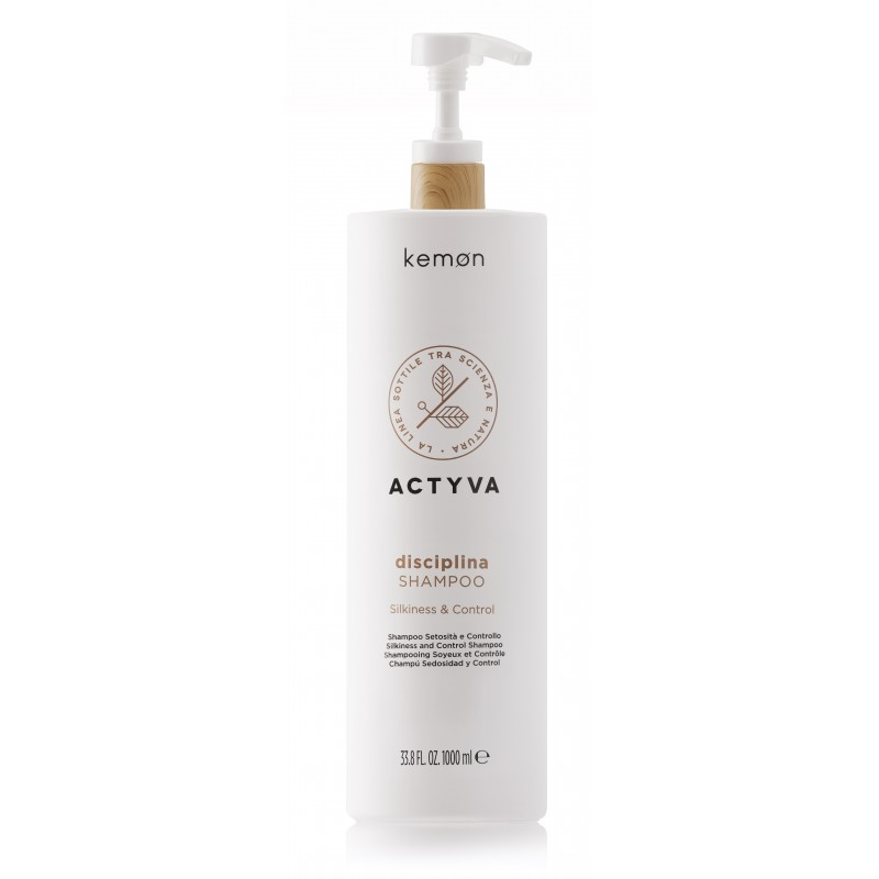 KEMON ACTYVA Disciplina Shampoo 1000ml - Szampon dyscyplinujący